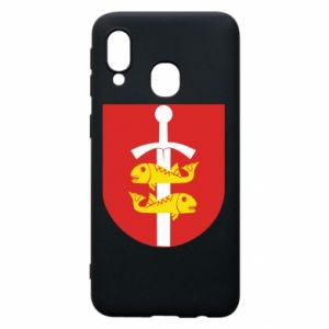 Samsung A40 Case Gdynia coat of arms