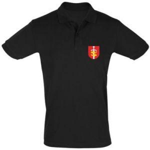 Men's Polo shirt Gdynia coat of arms