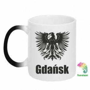 Kubek-kameleon Gdańsk