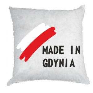 Pillow Made in Gdynia