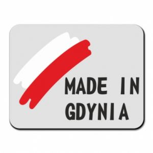 Mouse pad Made in Gdynia