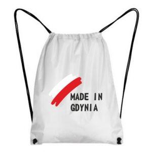 Backpack-bag Made in Gdynia