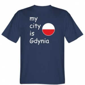 T-shirt My city is Gdynia