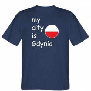 Koszulka My city is Gdynia