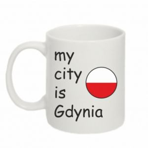 Kubek 330ml My city is Gdynia - PrintSalon