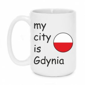 Kubek 450ml My city is Gdynia - PrintSalon