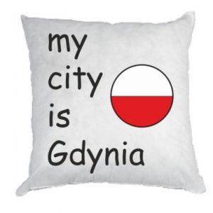 Pillow My city is Gdynia