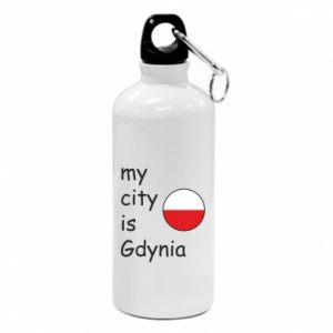 Water bottle My city is Gdynia