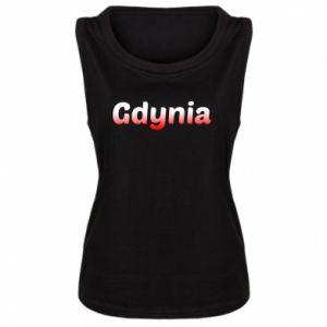 Damska koszulka bez rękawów Gdynia