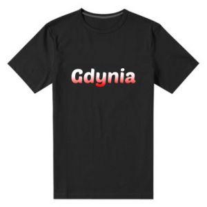 Męska premium koszulka Gdynia