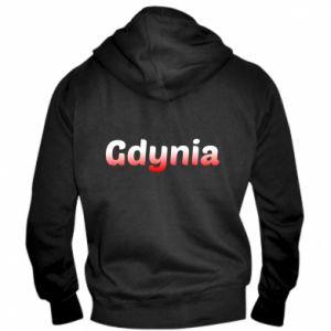 Męska bluza z kapturem na zamek Gdynia