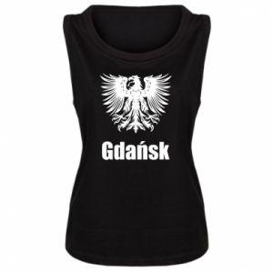 Damska koszulka bez rękawów Gdańsk