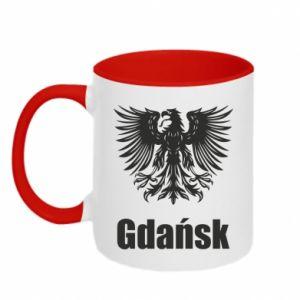 Kubek dwukolorowy Gdańsk