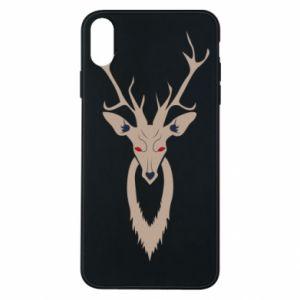 Phone case for iPhone Xs Max Gentle deer - PrintSalon