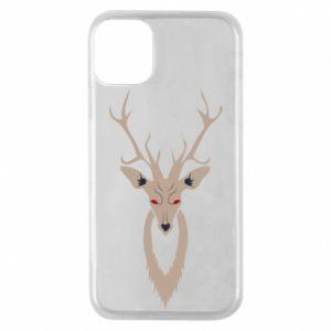 Phone case for iPhone 11 Pro Gentle deer - PrintSalon