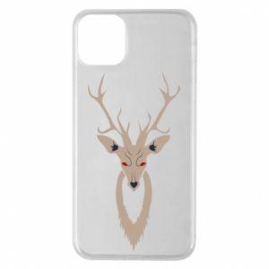 Phone case for iPhone 11 Pro Max Gentle deer - PrintSalon