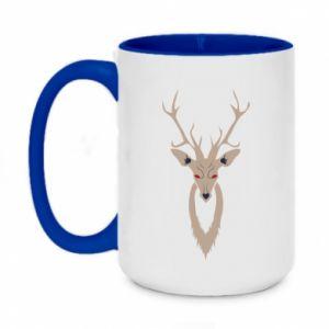Kubek dwukolorowy 450ml Gentle deer