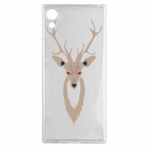 Etui na Sony Xperia XA1 Gentle deer