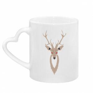 Kubek z uchwytem w kształcie serca Gentle deer