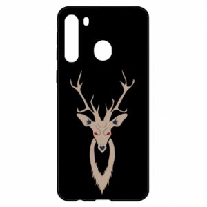 Etui na Samsung A21 Gentle deer