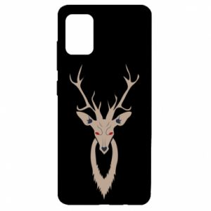 Etui na Samsung A51 Gentle deer