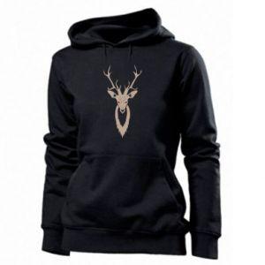 Women's hoodies Gentle deer - PrintSalon