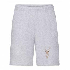 Men's shorts Gentle deer - PrintSalon