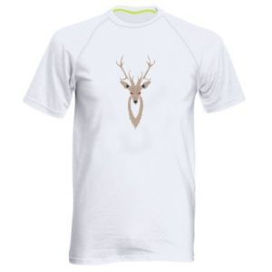 Men's sports t-shirt Gentle deer - PrintSalon