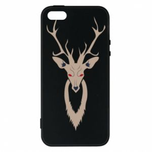 Phone case for iPhone 5/5S/SE Gentle deer - PrintSalon