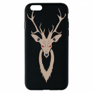 Phone case for iPhone 6/6S Gentle deer - PrintSalon