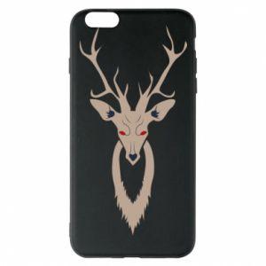 Phone case for iPhone 6 Plus/6S Plus Gentle deer - PrintSalon