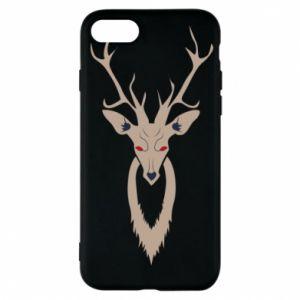 Phone case for iPhone 7 Gentle deer - PrintSalon
