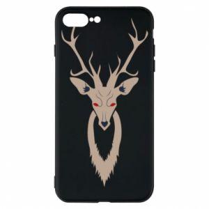 Phone case for iPhone 7 Plus Gentle deer - PrintSalon
