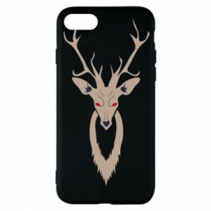 Phone case for iPhone 8 Gentle deer - PrintSalon