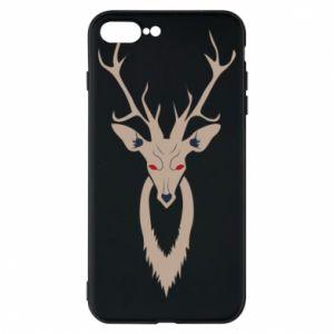 Phone case for iPhone 8 Plus Gentle deer - PrintSalon