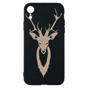 Phone case for iPhone XR Gentle deer - PrintSalon