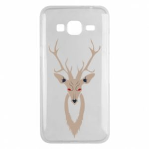 Phone case for Samsung J3 2016 Gentle deer - PrintSalon