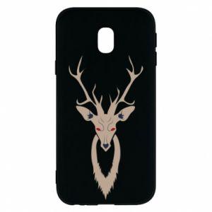 Phone case for Samsung J3 2017 Gentle deer - PrintSalon