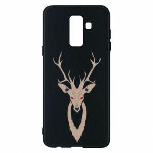 Phone case for Samsung A6+ 2018 Gentle deer - PrintSalon