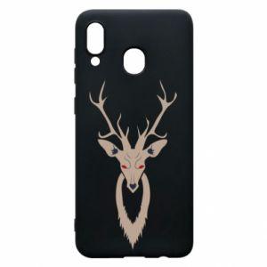 Phone case for Samsung A20 Gentle deer - PrintSalon