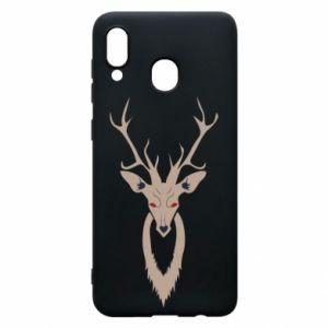 Etui na Samsung A30 Gentle deer