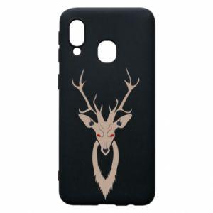 Phone case for Samsung A40 Gentle deer - PrintSalon