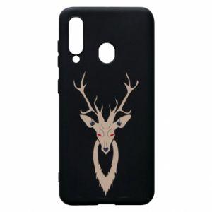 Phone case for Samsung A60 Gentle deer - PrintSalon