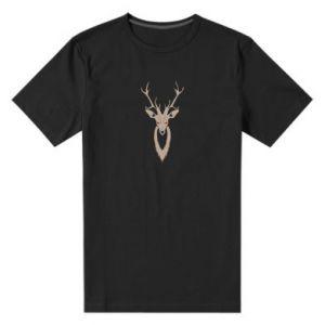 Men's premium t-shirt Gentle deer - PrintSalon