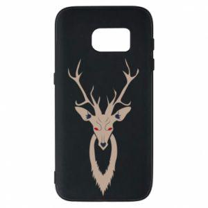 Phone case for Samsung S7 Gentle deer - PrintSalon