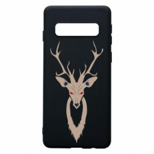 Phone case for Samsung S10 Gentle deer - PrintSalon