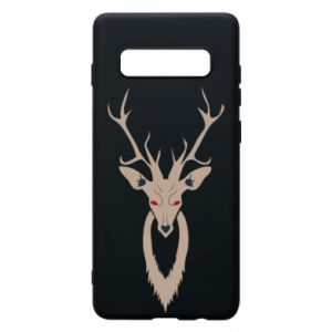Phone case for Samsung S10+ Gentle deer - PrintSalon