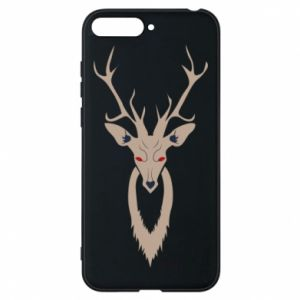 Etui na Huawei Y6 2018 Gentle deer