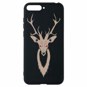Phone case for Huawei Y6 2018 Gentle deer - PrintSalon