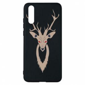 Etui na Huawei P20 Gentle deer